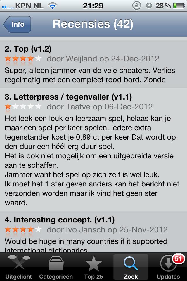 Letterpress is gewoon echt heel fijn - alleen nog niet in NL, dat is jammer